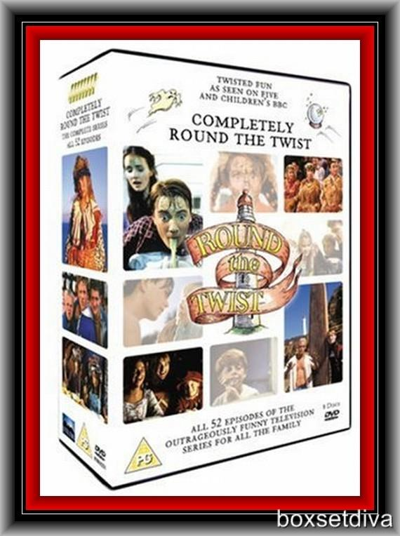 Details about ROUND THE TWIST- COMPLETE SERIES 1 2 3 & 4 ** BRAND NEW DVD  BOXSET***