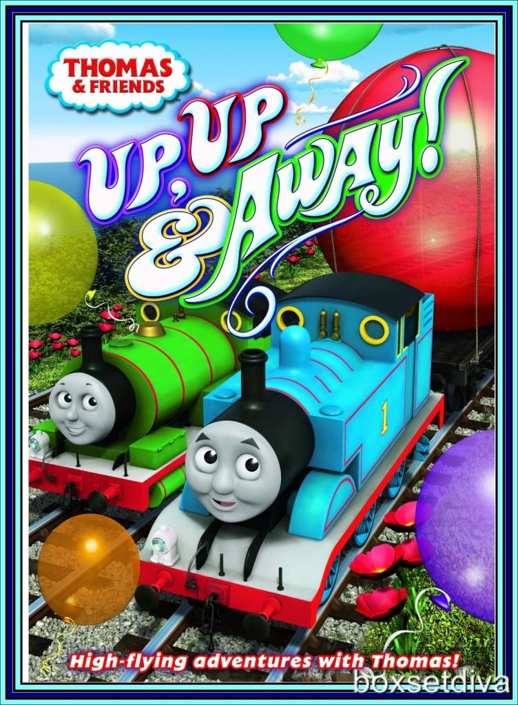 thomas friends up up and away 2012 brand new dvd ebay. Black Bedroom Furniture Sets. Home Design Ideas