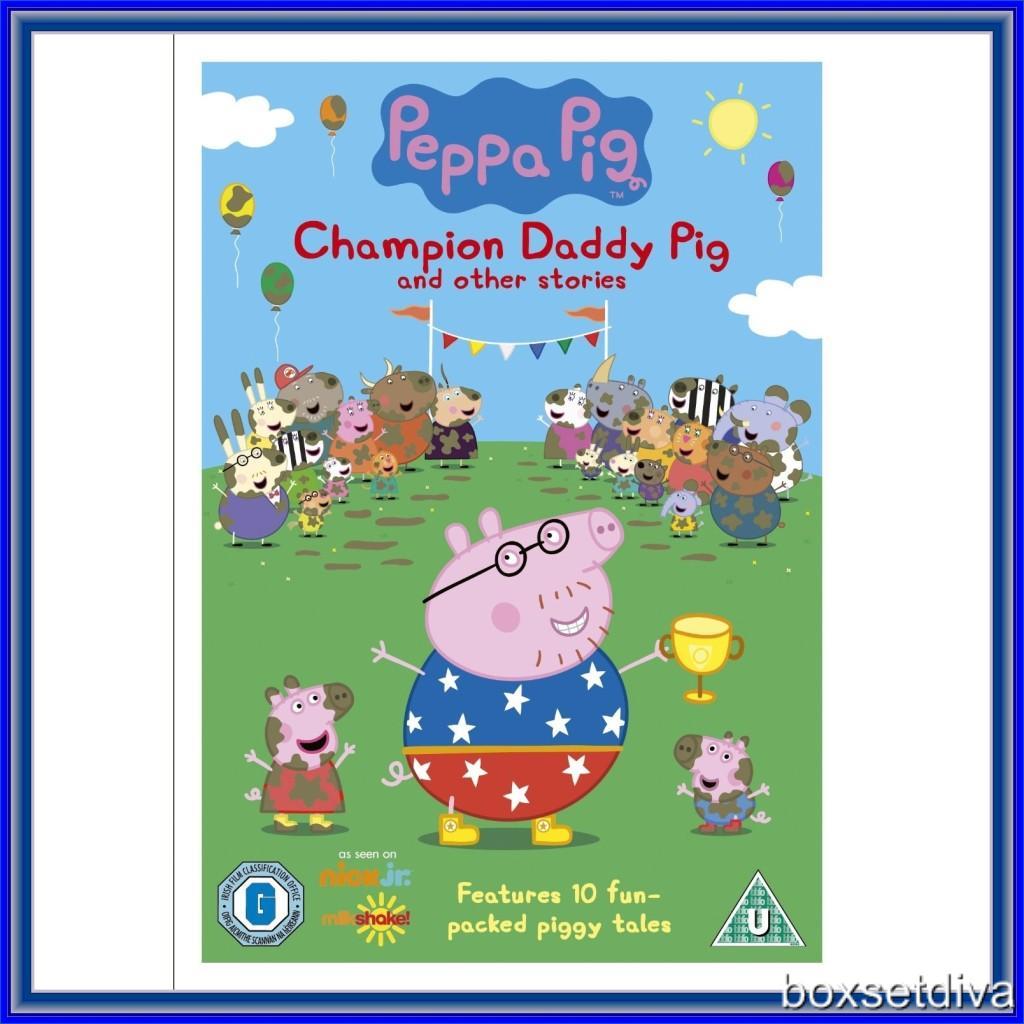 PEPPA PIG - CHAMPION DADDY PIG (VOLUME 16) *BRAND NEW DVD *
