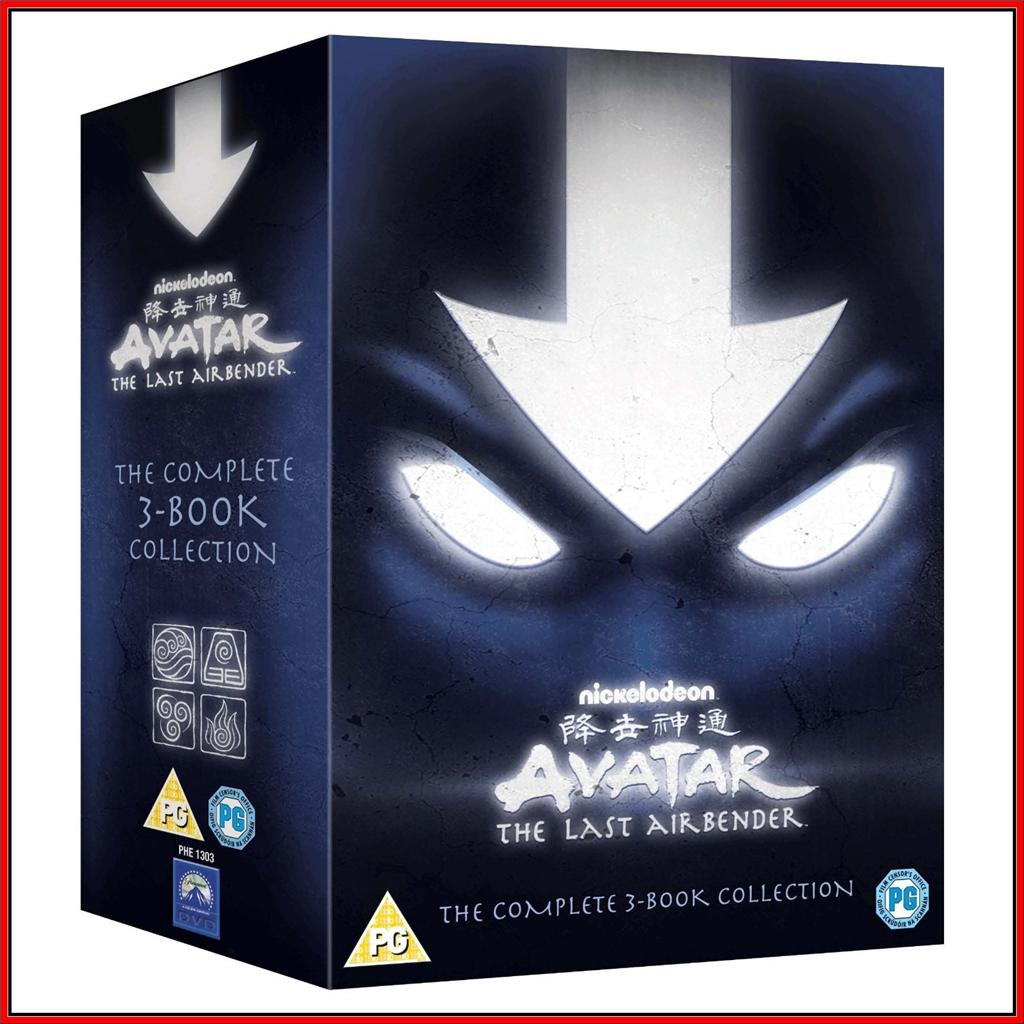 Avatar 2 Release Date: AVATAR: THE LAST AIRBENDER COMPLETE 3 BOOK COLLECTION
