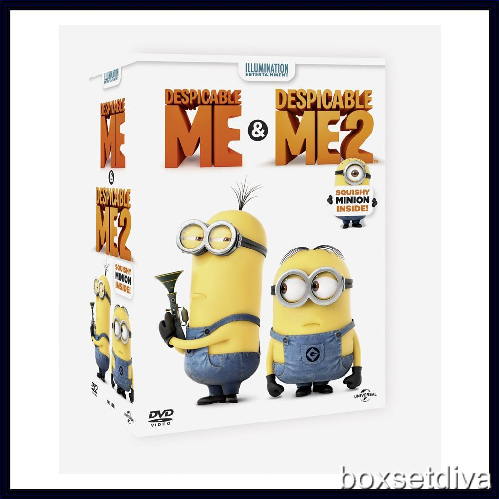 Despicable Me Amp Despicable Me 2 Ltd Edition Gift Pack