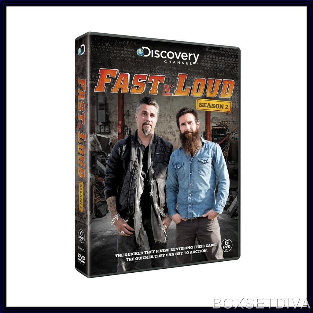 fast n loud complete season 2 brand new dvd ebay. Black Bedroom Furniture Sets. Home Design Ideas