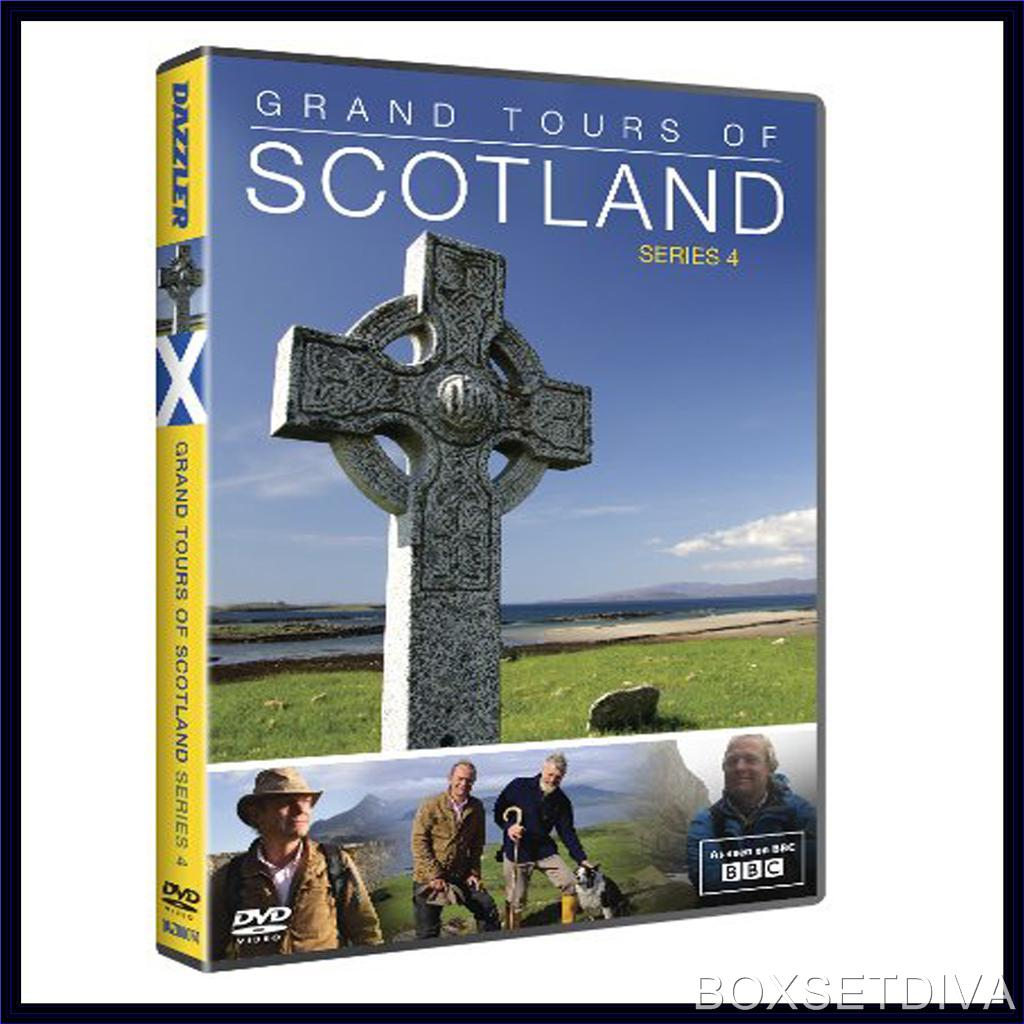 grand tours of scotland complete series 4 brand new dvd. Black Bedroom Furniture Sets. Home Design Ideas