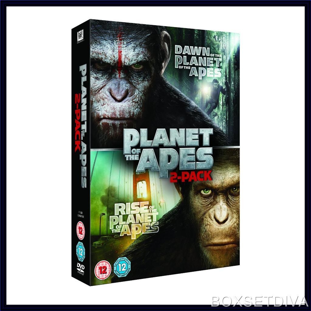 DAWN OF THE PLANET OF THE APES & RISE OF THE PLANET OF THE ...