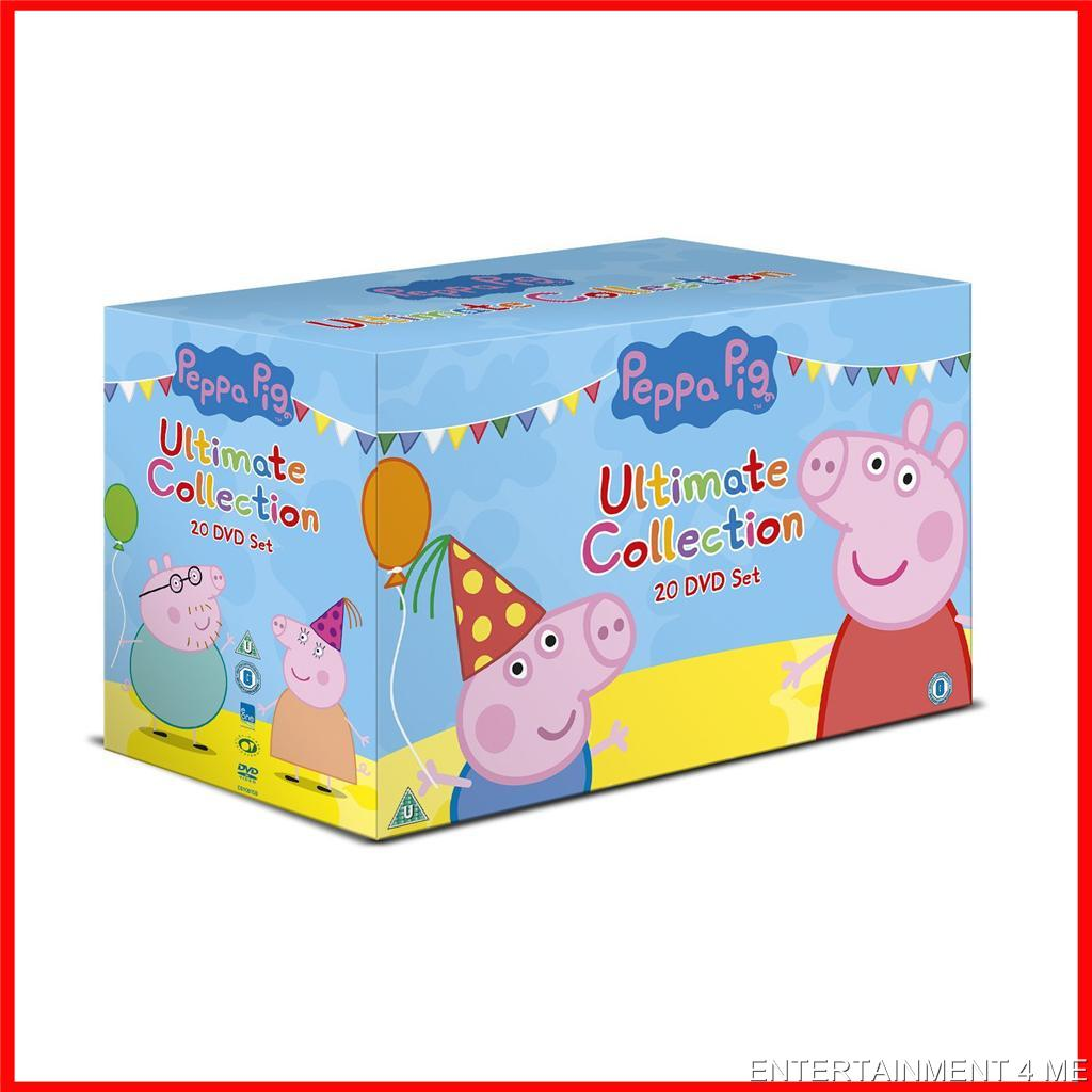peppa pig  ultimate collection dvd boxset  20 dvds