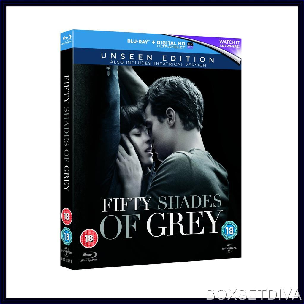 fifty shades of grey the unseen edition brand new blu. Black Bedroom Furniture Sets. Home Design Ideas