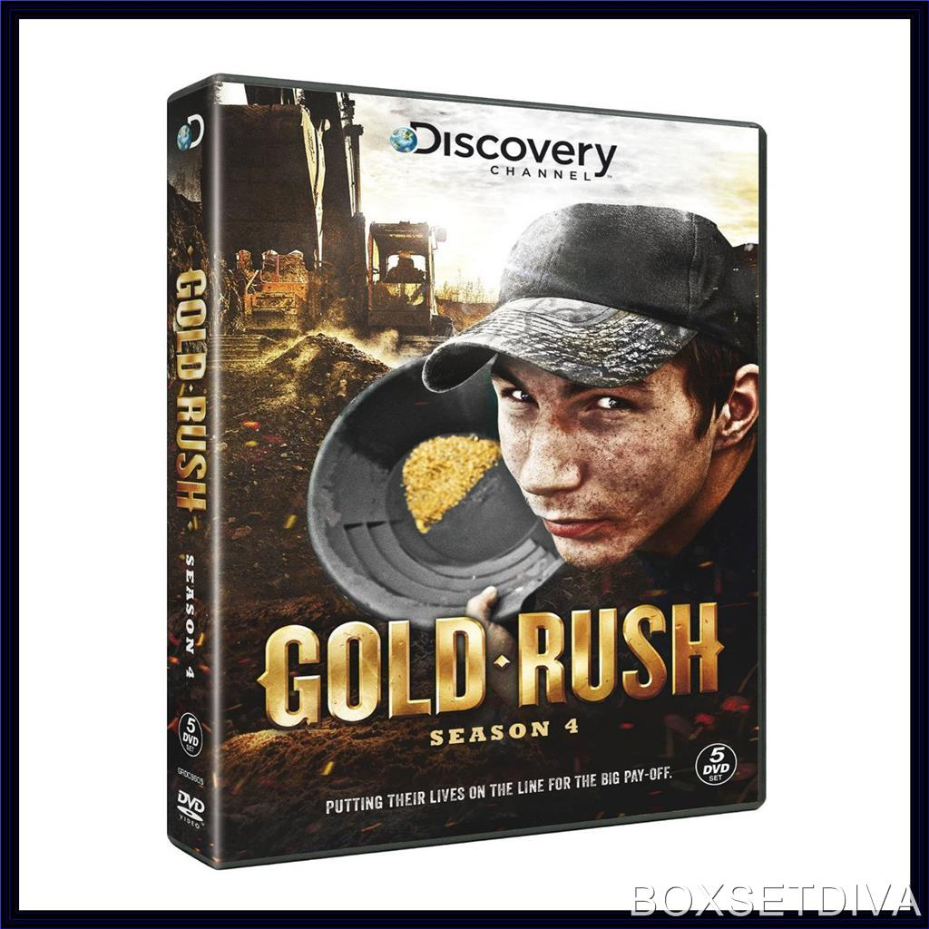 gold rush complete season 4 brand new dvd ebay. Black Bedroom Furniture Sets. Home Design Ideas