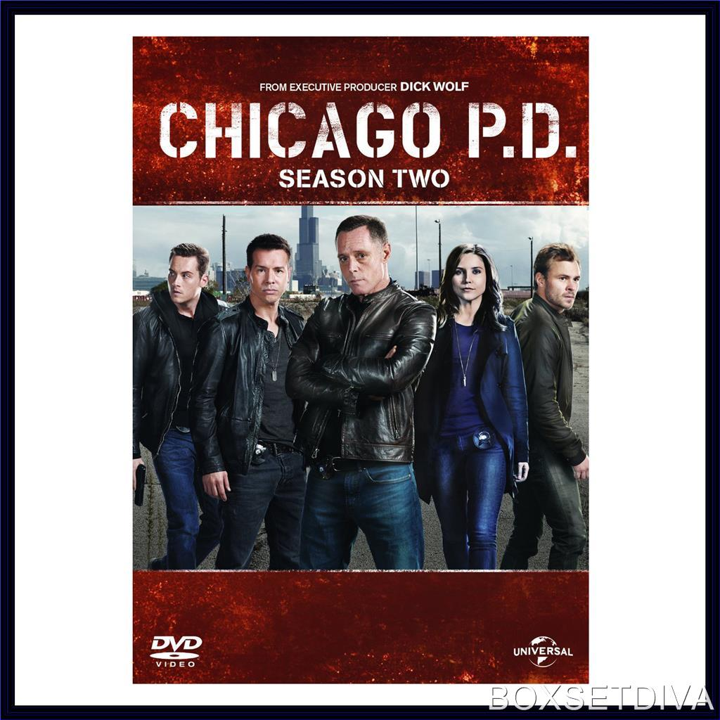 CHICAGO PD - COMPLETE SEASON 2 *BRAND NEW DVD***