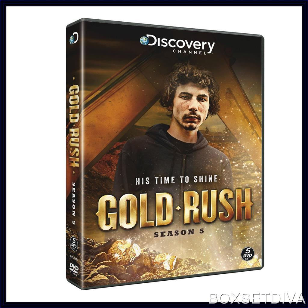 gold rush complete season 5 brand new ebay. Black Bedroom Furniture Sets. Home Design Ideas