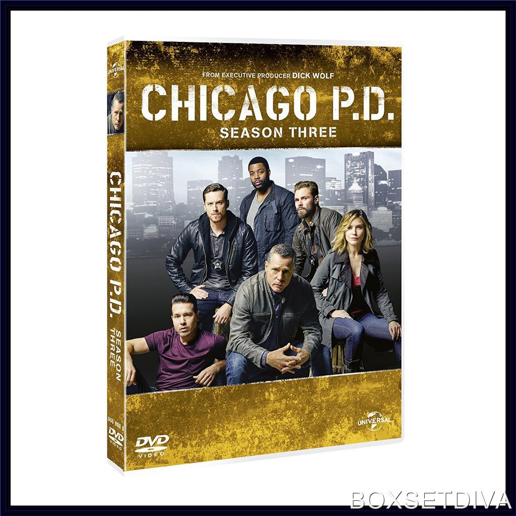 CHICAGO PD - COMPLETE SEASON 3 *BRAND NEW DVD **