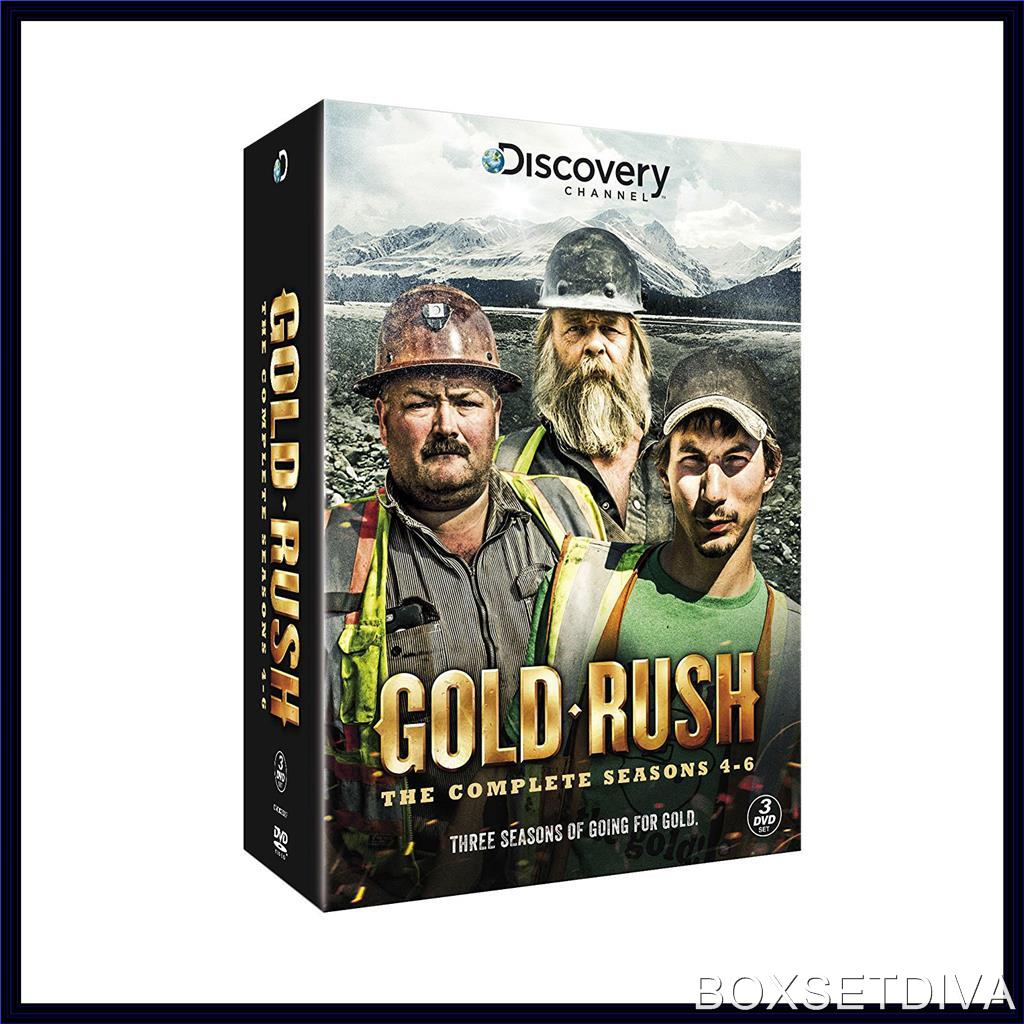 gold rush complete seasons 4 5 6 brand new dvd boxset ebay. Black Bedroom Furniture Sets. Home Design Ideas