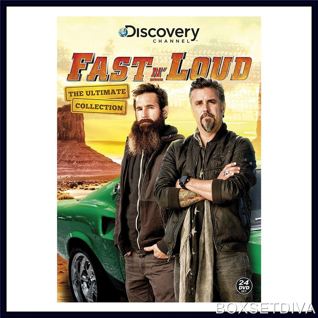 fast n loud ultimate collection complete series 1 2 3 brand new dvd. Black Bedroom Furniture Sets. Home Design Ideas