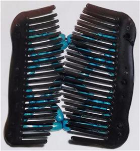 """Quality S37 African Butterfly Comb Angel Wings Hair Clips 4x3.5/"""" US SELLER"""