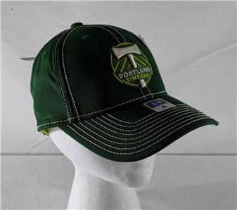 b7def28f40c Details about LZ Adidas Fitted S M Portland Timbers FC Soccer MLS Baseball  Cap Hat NEW 90