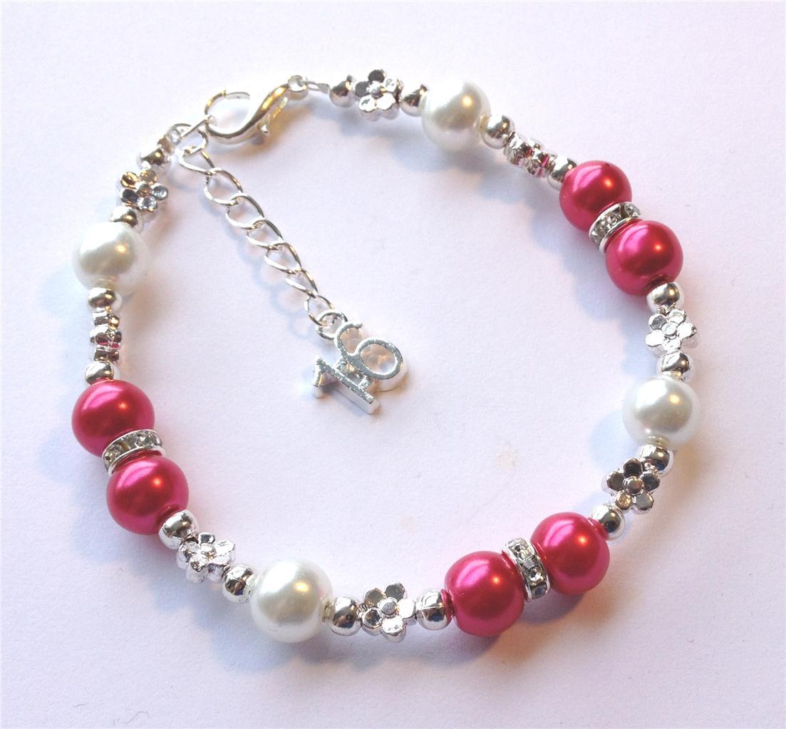 18th Birthday Heart Initial Bracelet 18th Birthday Jewelry: 16th 18th 21st 30th 40th 50th 60th Birthday Gift