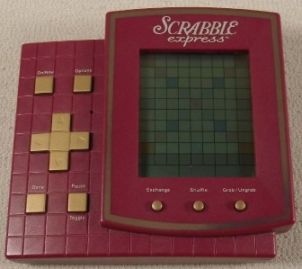 Hasbro SCRABBLE EXPRESS Electronic Handheld Game w/Instructions - Ex Condition! | eBay