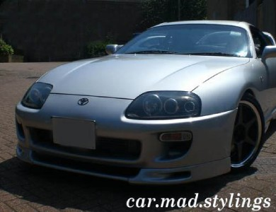 toyota supra t style front lip spoiler splitter kit. Black Bedroom Furniture Sets. Home Design Ideas