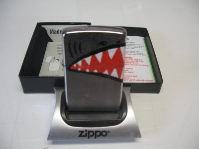 Shark Mouth Zippo 27