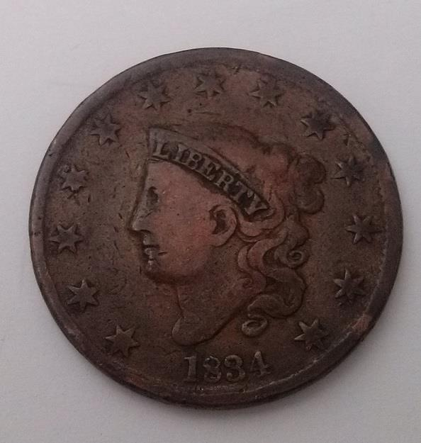 USA-1834-Liberty-One-Cent-Coin-Fine