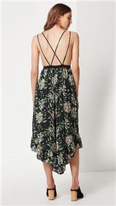 acfd1519e572 NWOT URBAN OUTFITTERS UO STRAPPY BACK WIDE-LEG JUMPSUIT sz S)