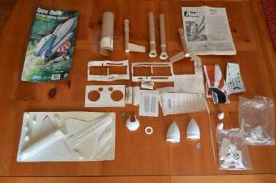 Vintage Estes Flying Model Rocket Space Shuttle # 1284 ...