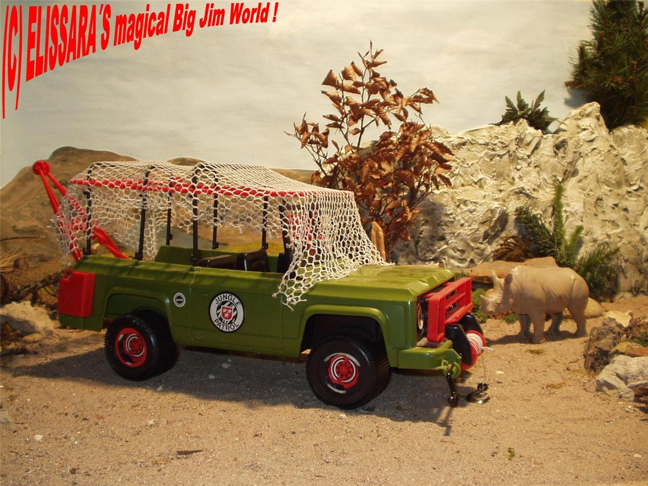 big jim safari jeep jungle truck rhino baby etc ebay. Black Bedroom Furniture Sets. Home Design Ideas
