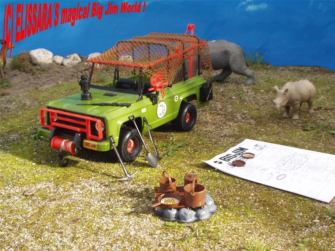 big jim safari jeep jungle truck nashorn rhino. Black Bedroom Furniture Sets. Home Design Ideas
