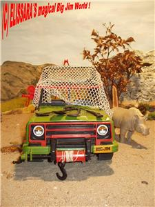 big jim safari jeep jungle camion rhino accessoires. Black Bedroom Furniture Sets. Home Design Ideas