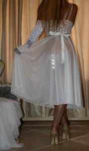 S Vtg Slip Lingerie Double Chiffon Nightgown Peignoir Set Vanity Fair Ebay