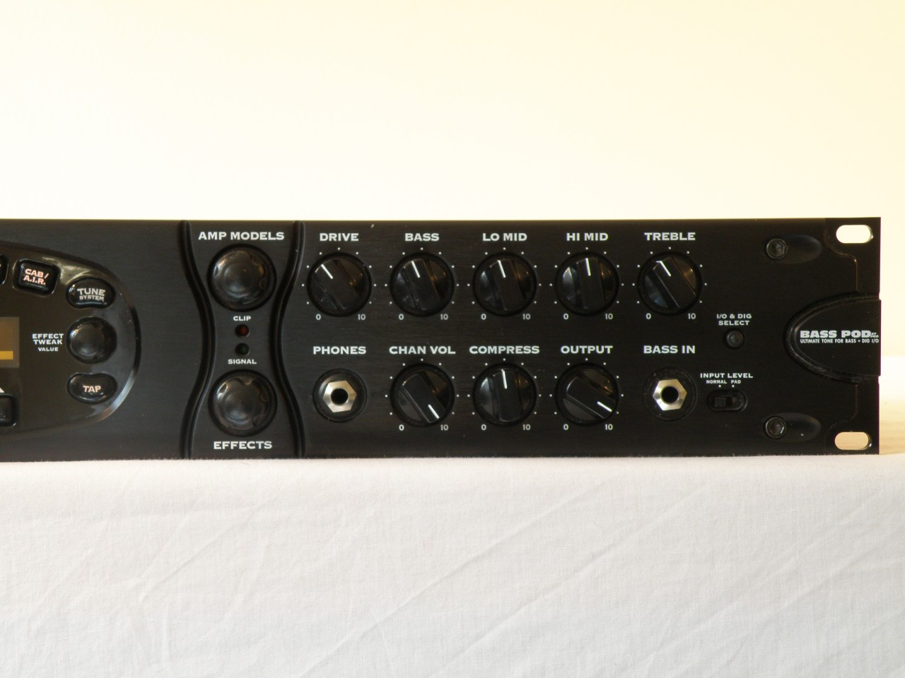 Line 6 Bass Pod Xt Pro With Manual Ebay