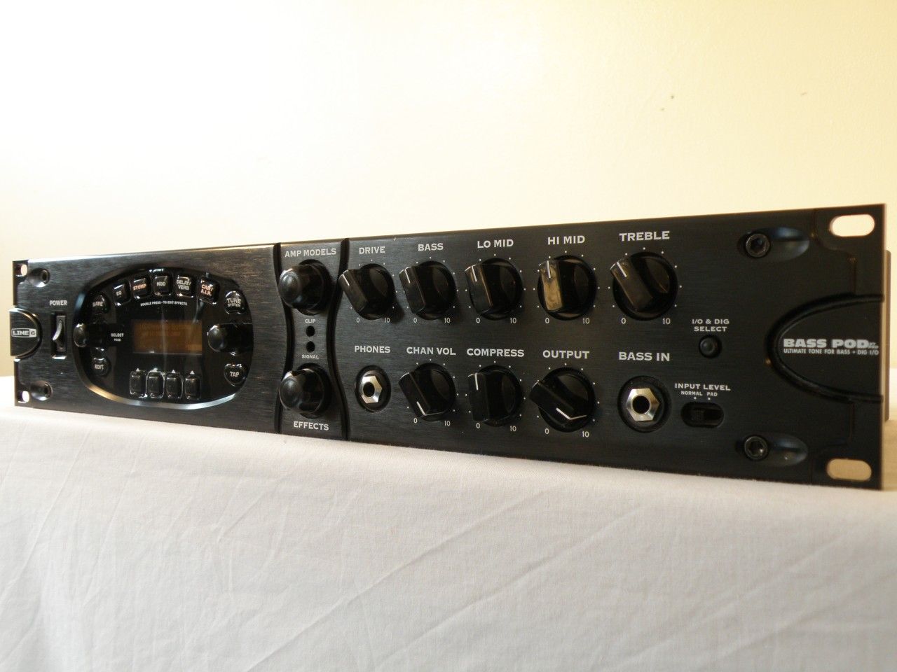 line 6 bass pod xt pro with manual ebay. Black Bedroom Furniture Sets. Home Design Ideas