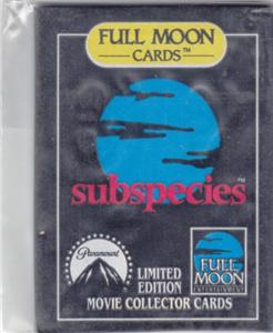 FULL MOON  SUBSPECIES UNOPENED TRADING CARD PACK