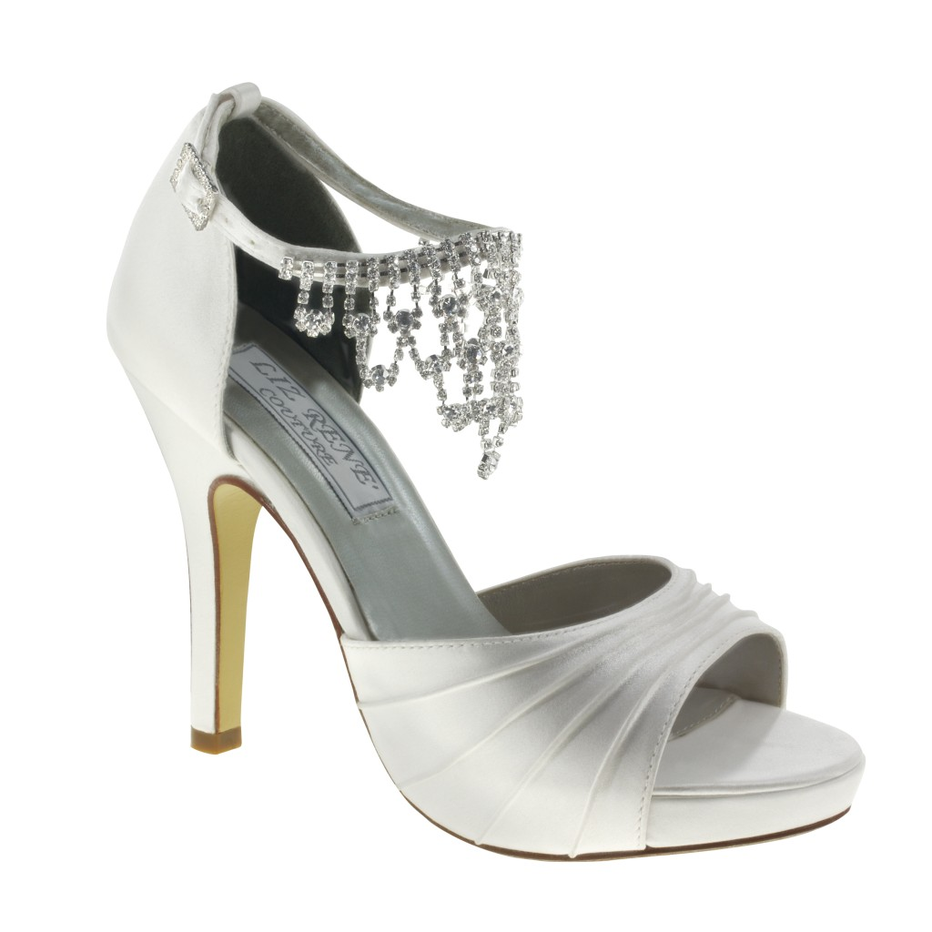 DYEABLE Touch Ups Shoes GUADALUPE in WHITE Bridal Evening ...