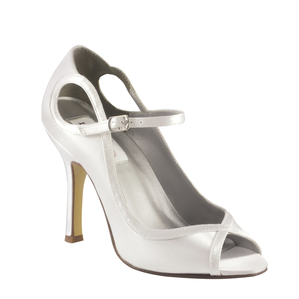 dyable wedding shoes white womens bridal satin dyeable high heels sandals 3781