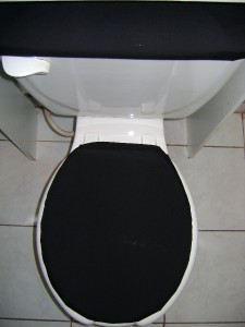 Solid Black Toilet Seat Lid Amp Tank Cover Set Ebay