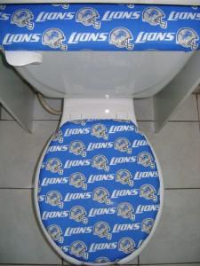 Nfl Detroit Lions Toilet Seat Lid Amp Tank Cover Set Ebay