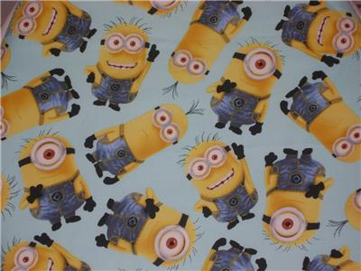 Despicable Me Minions Minion Cotton Fabric Toilet Seat