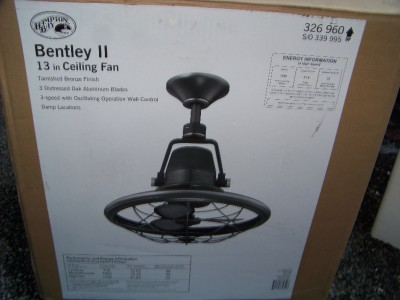 Hampton Bay Bentley Ii 13 In Indoor Outdoor Oscillating
