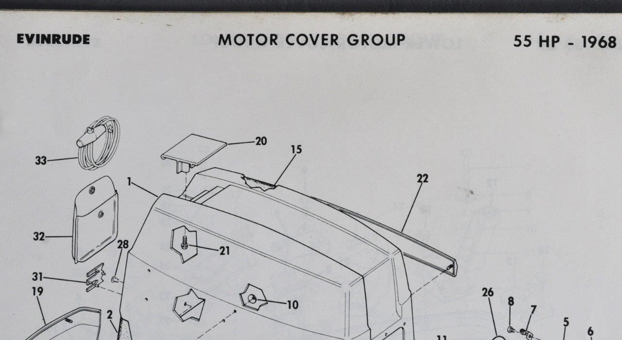 Super 404795 Vintage 1968 Omc Parts Catalog Evinrude Johnson 55Hp 4 Models Wiring Digital Resources Funapmognl