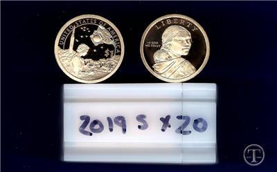 Sacagawea Dollar Roll of 20 2010 S GEM PROOF Native American