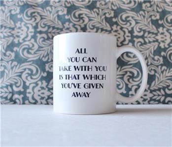 Dear George Coffee Mug It/'s A Wonderful Life Mug Christmas Mug Christmas Gift