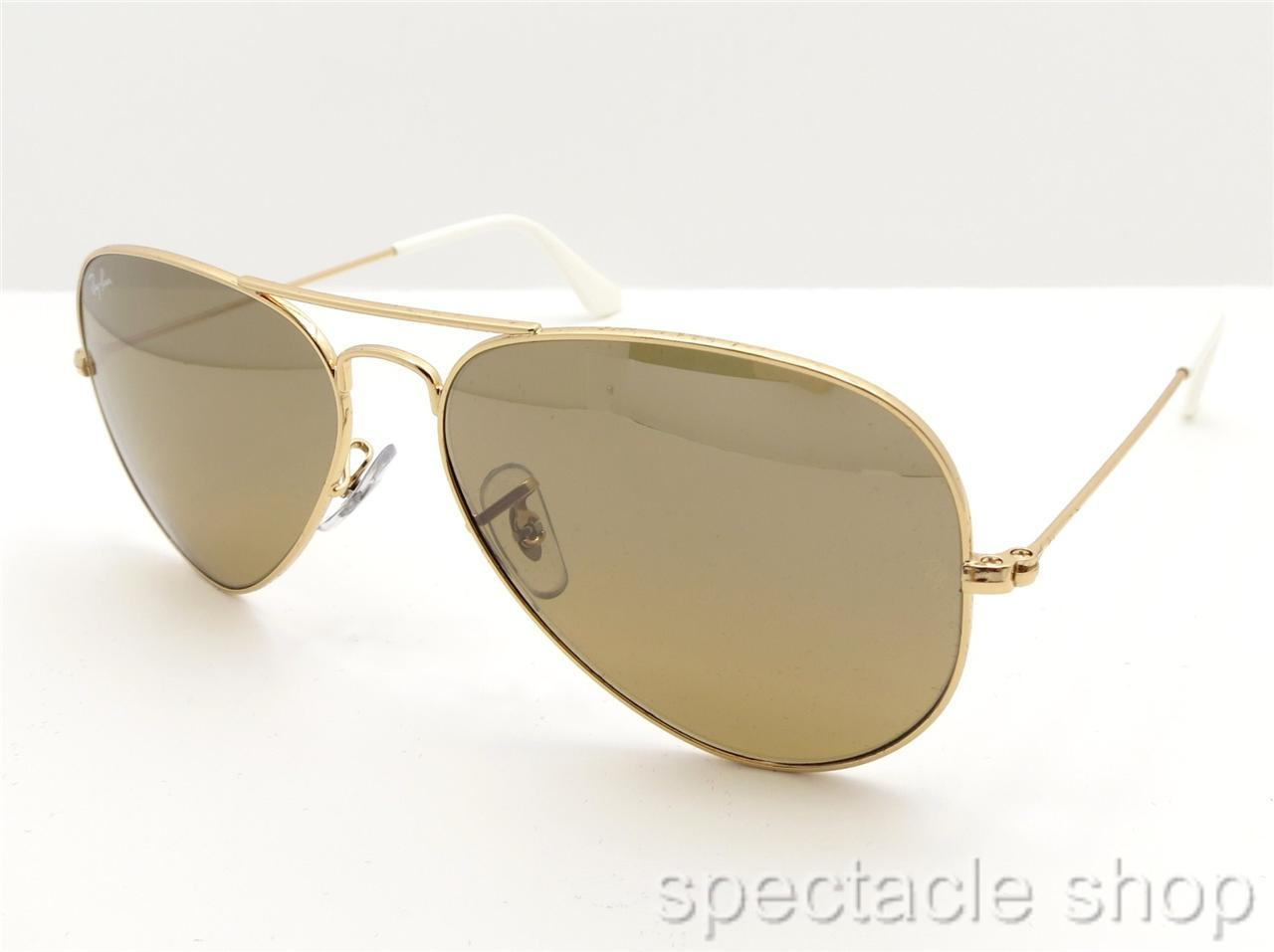 78904c8ccdef5 Ray Ban Rb 3025 58 Gold And Brown Radiant