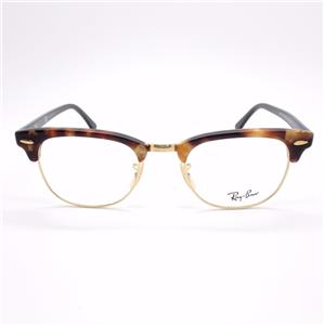 Ray Ban Rb 5154 5494 Clubmaster Brown Havana Frames