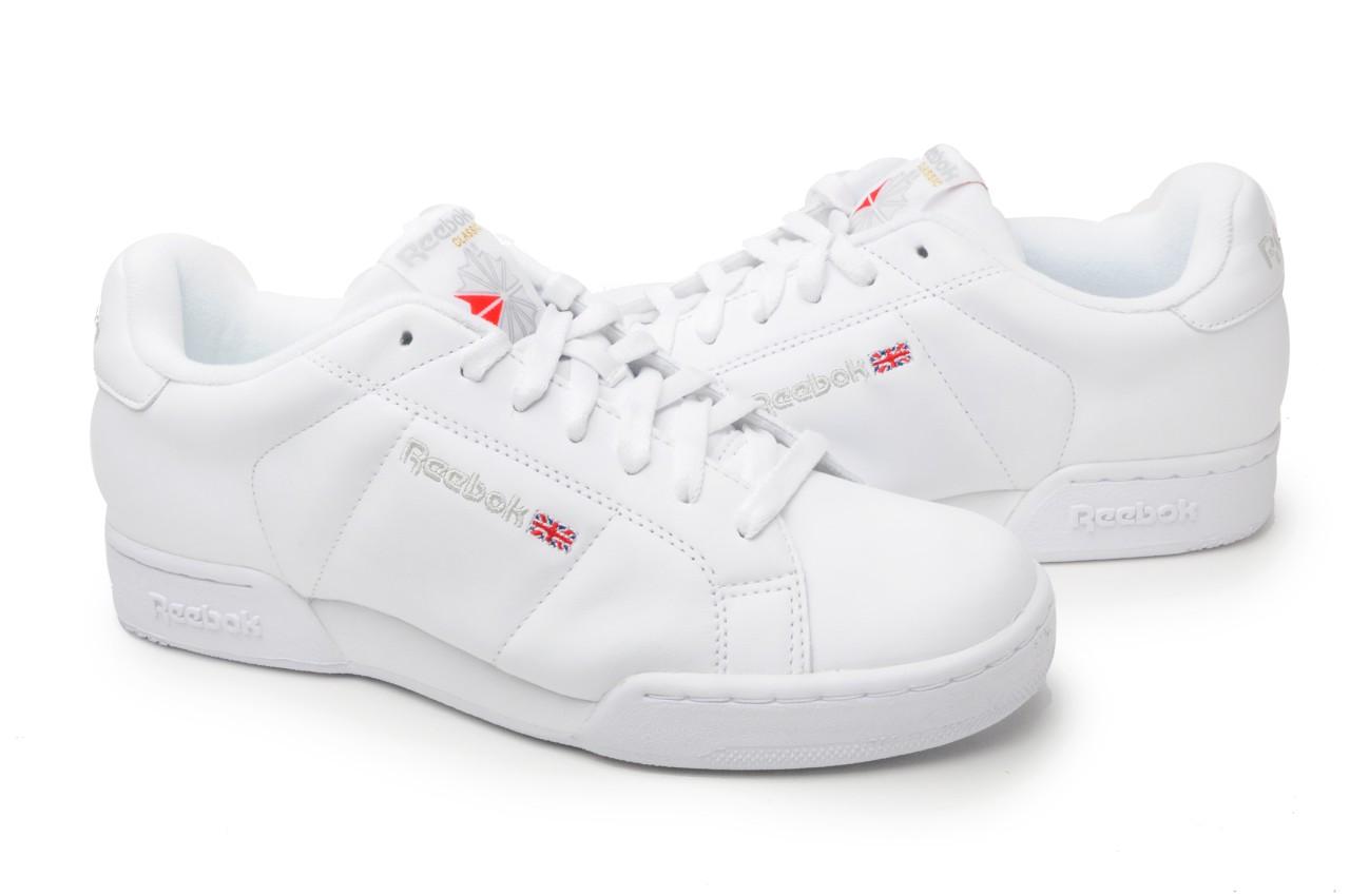 cf178c69463b Reebok Mens shoes Classic NPC II 6 5258 White  LT Grey on PopScreen
