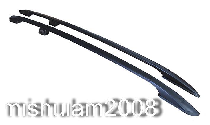 dachreling nissan qashqai 2 2007 aluminium schwarz ebay. Black Bedroom Furniture Sets. Home Design Ideas