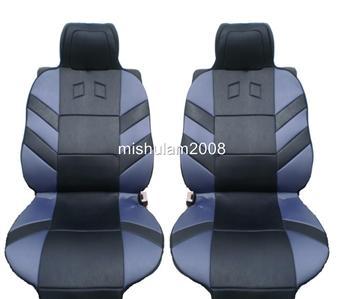 2 sport sitzbez ge sitzauflage grau f r dacia logan mcv. Black Bedroom Furniture Sets. Home Design Ideas