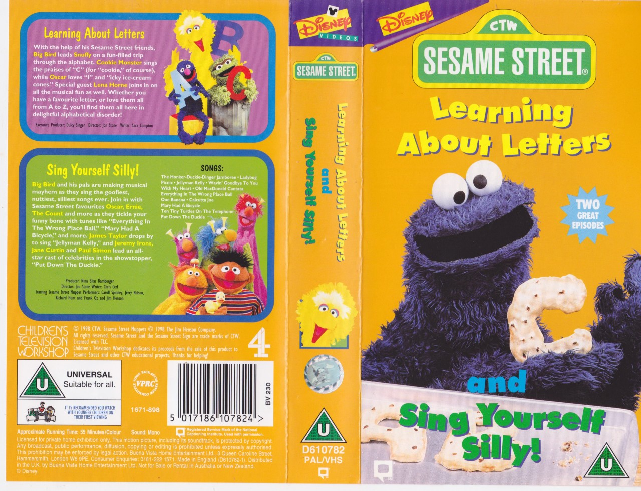 sesame street learning about letters sesame learning about letters and more vhs 24809 | 581665251 o