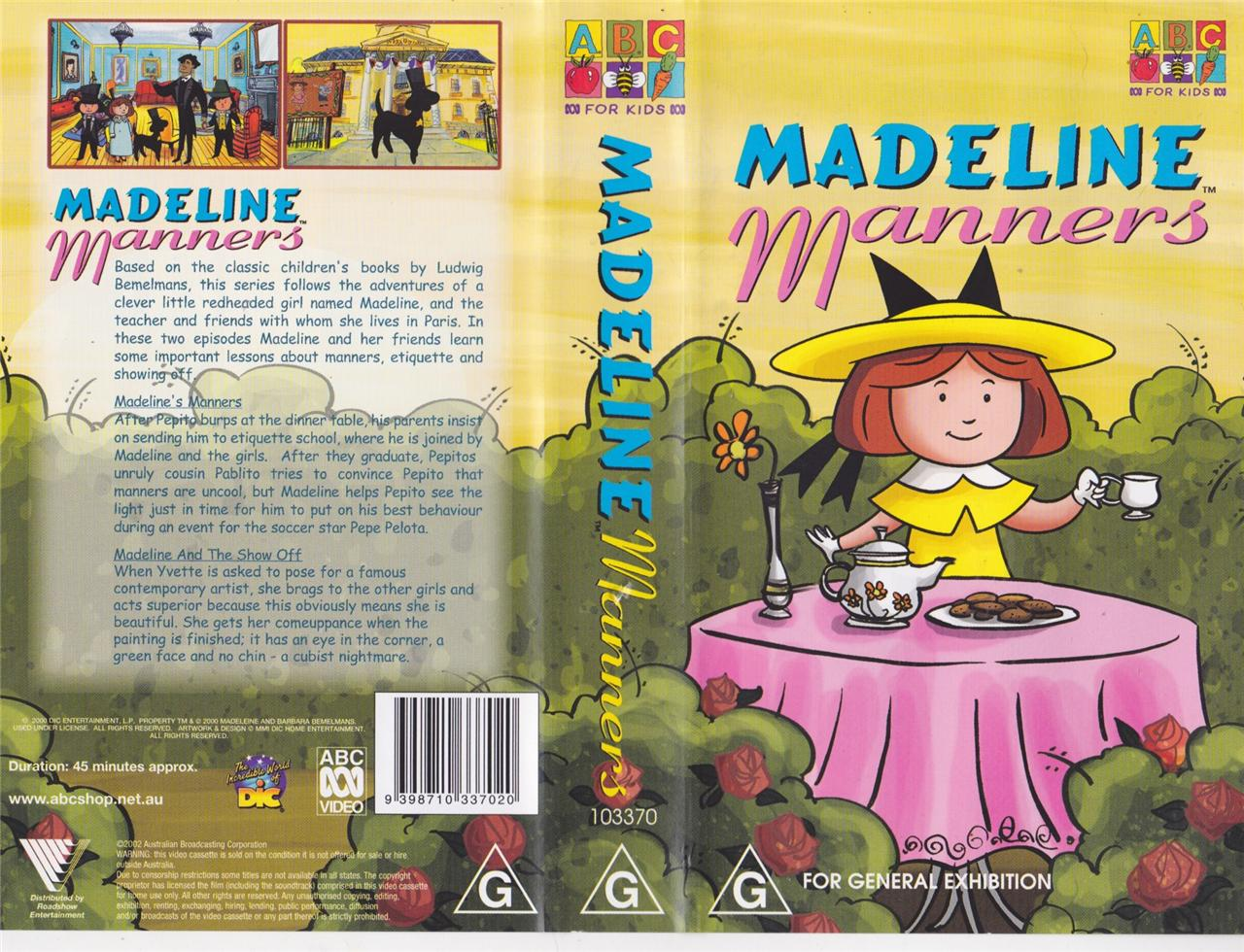 MADELINE MANNERS VIDEO PAL~ A RARE FIND