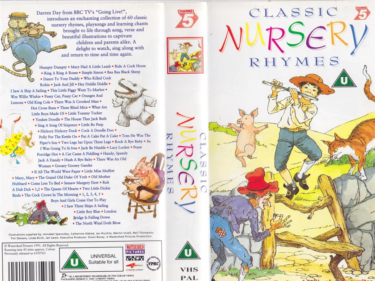 Nursery Rhymes Clic Thenurseries