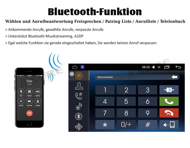 a sure 9 zoll android 6 0 autoradio gps f r vw golf. Black Bedroom Furniture Sets. Home Design Ideas